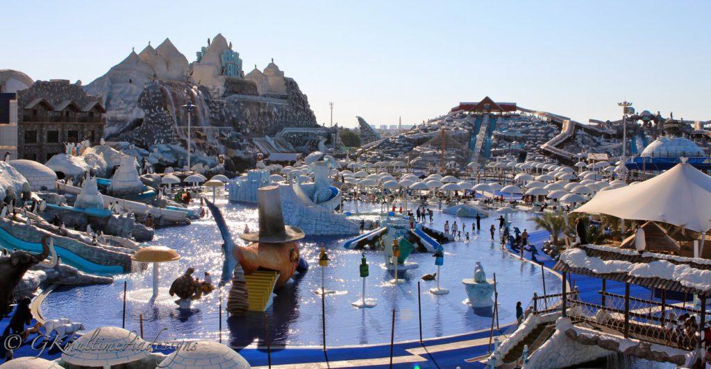 Аквапарк в Рас-Аль-Хайме