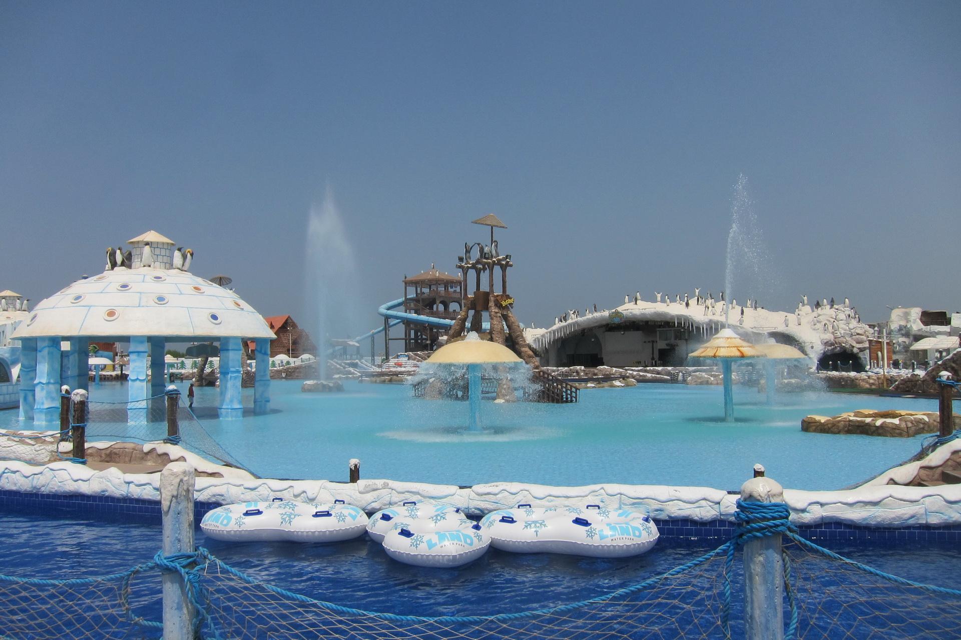 Фото аквапарка в Рас-Аль-Хайме