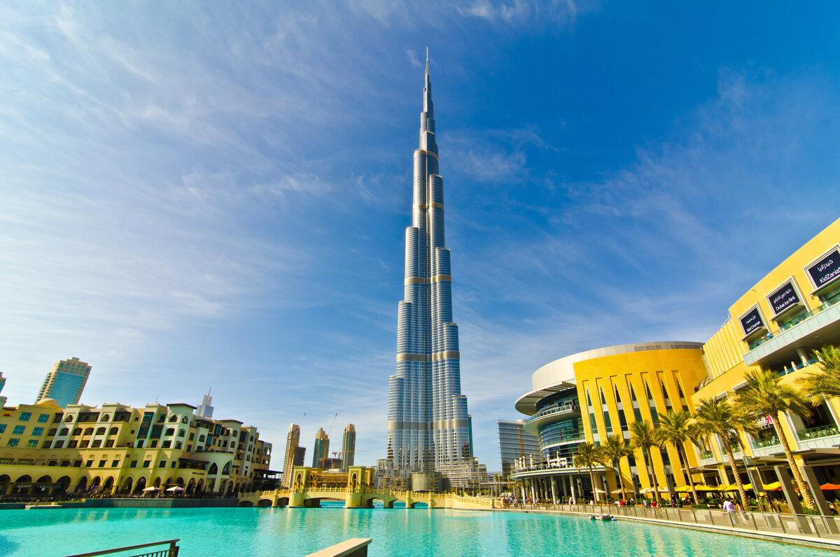 Фото Бурдж Халифы в Дубае