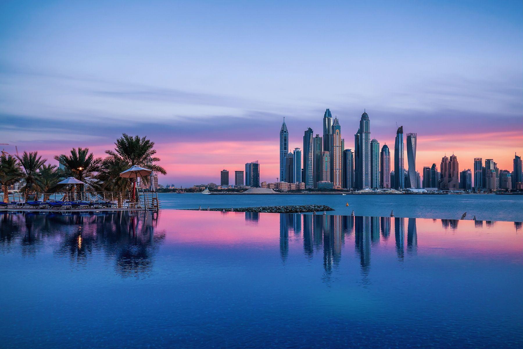 Фото Дубая в марте