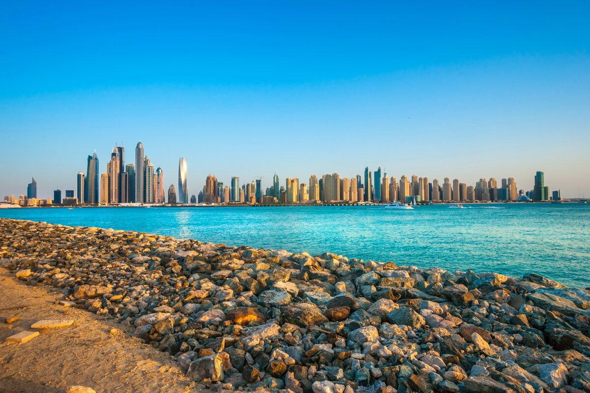 Фото пляжа в Эмиратах