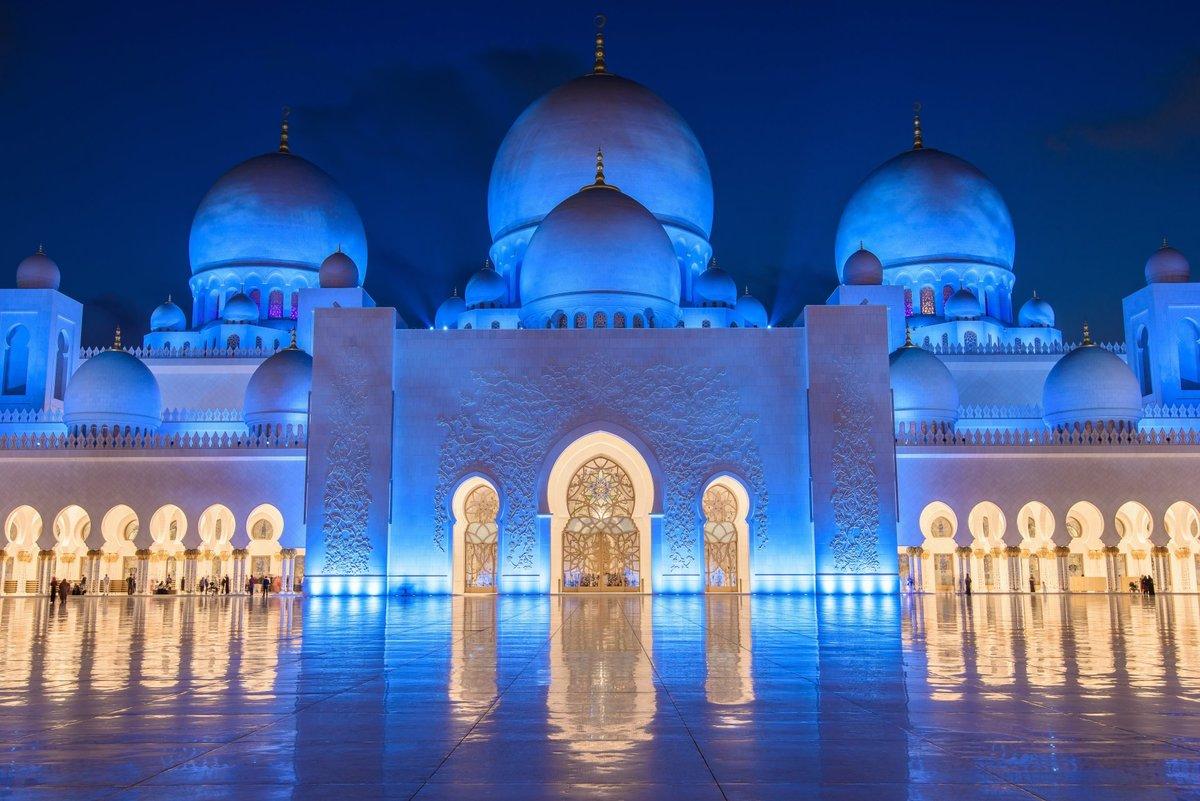 Фото мечети в Абу-Даби