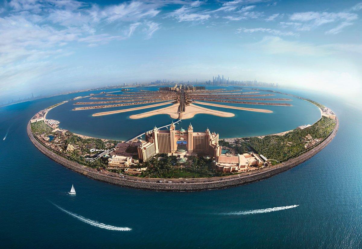 Фото острова в Дубае