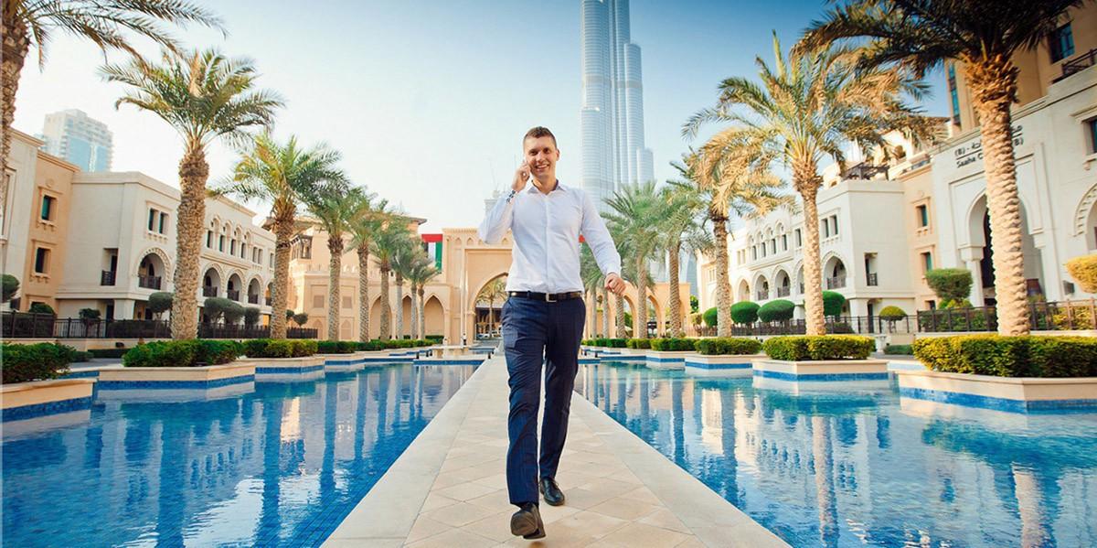 Фото бизнесмена в Дубае