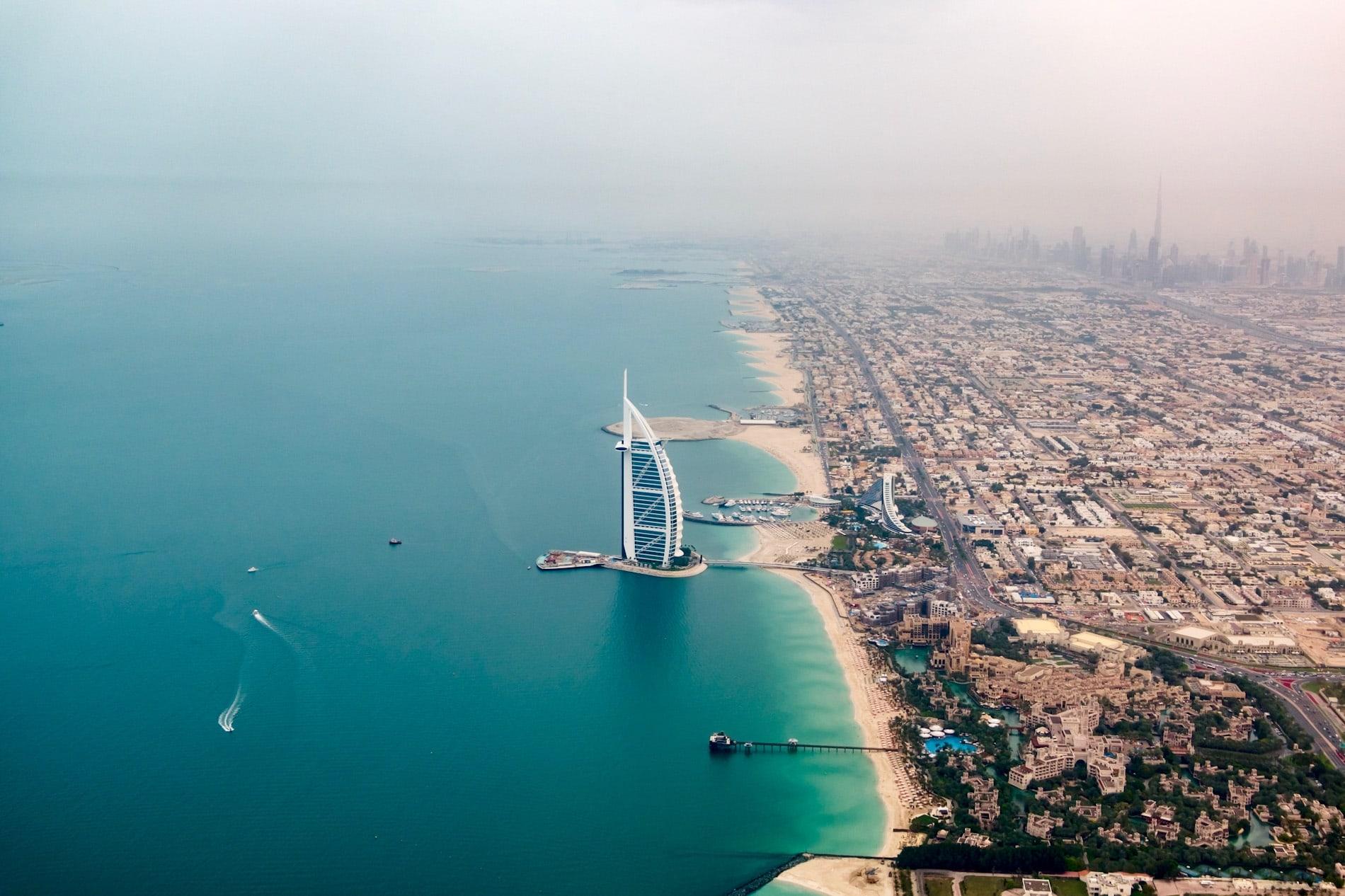 Фото Дубая в январе