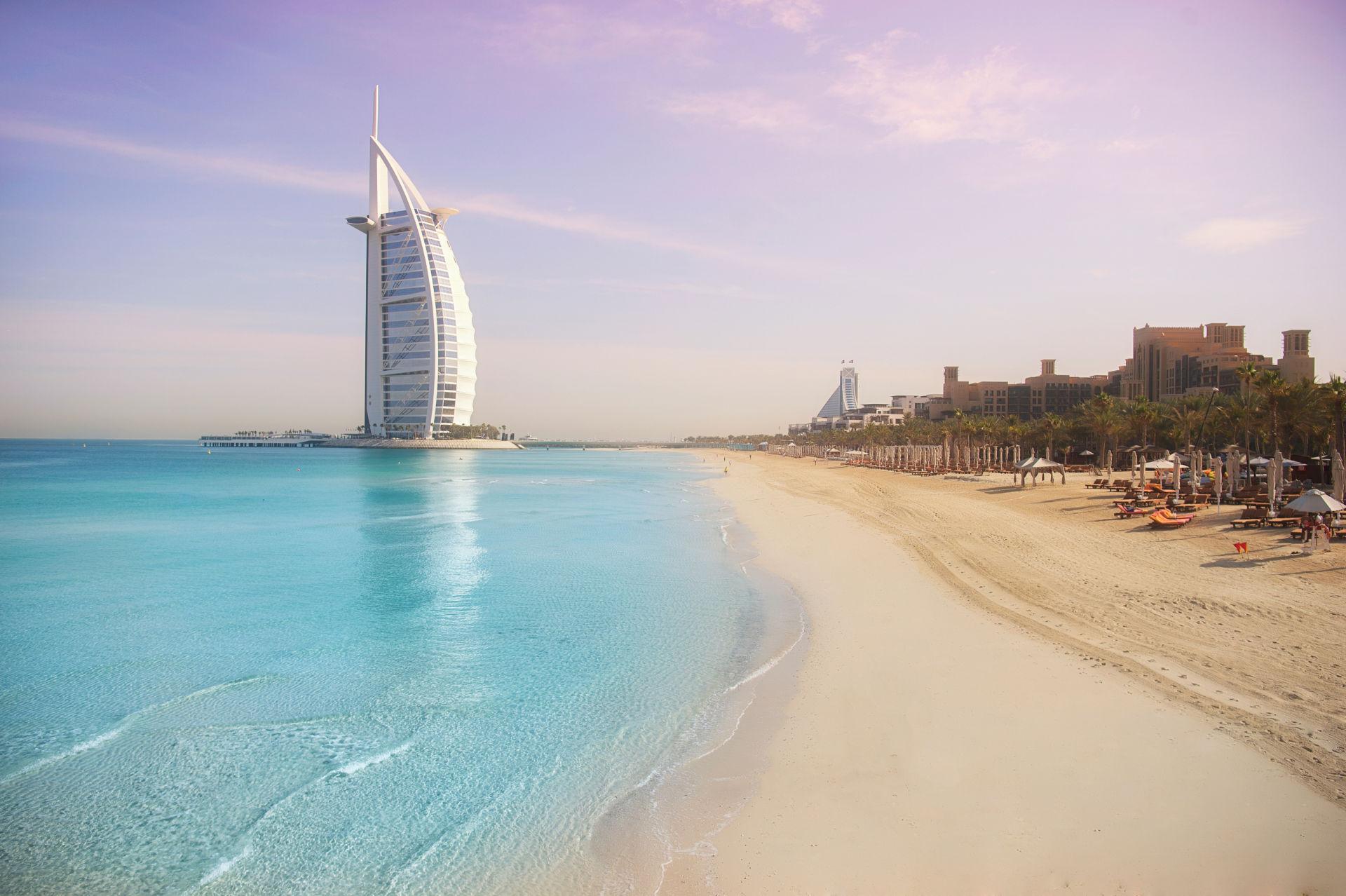 Фото моря в Дубае