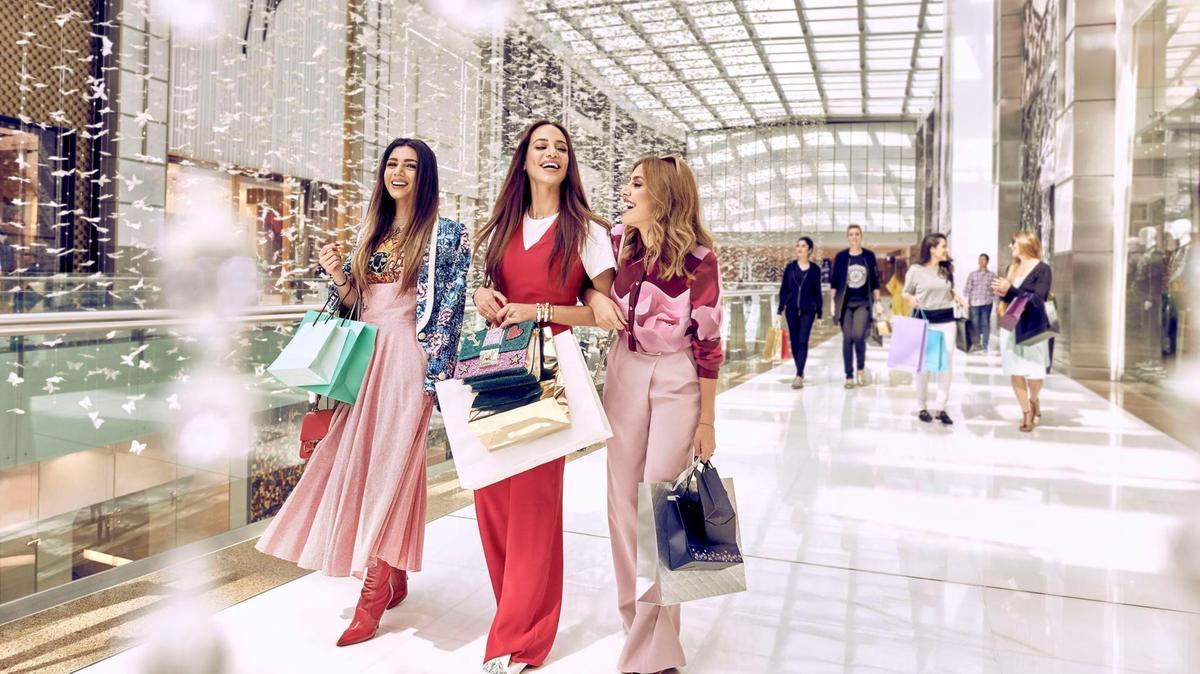 Фото шопинга в Дубае