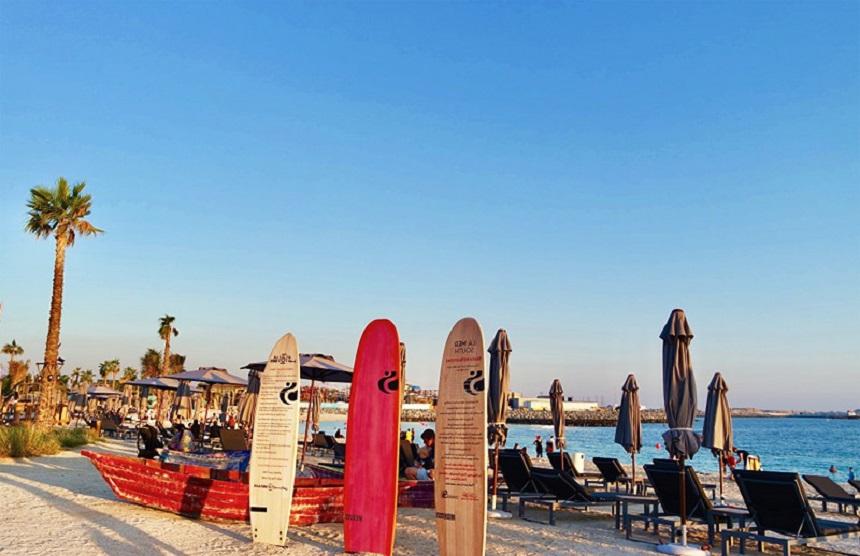 ТОП-20 лучших пляжей ОАЭ пляж Ля Мер
