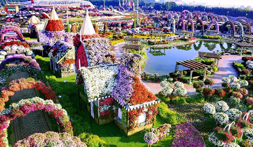Miracle Garden ТОП-15 лучших развлечений ОАЭ
