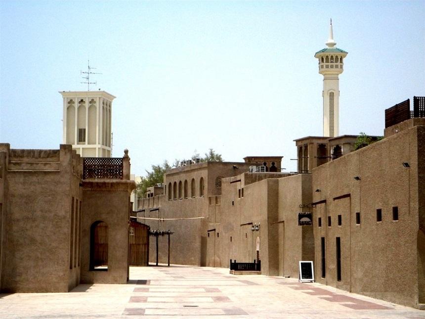 Район Бастакия Дубай