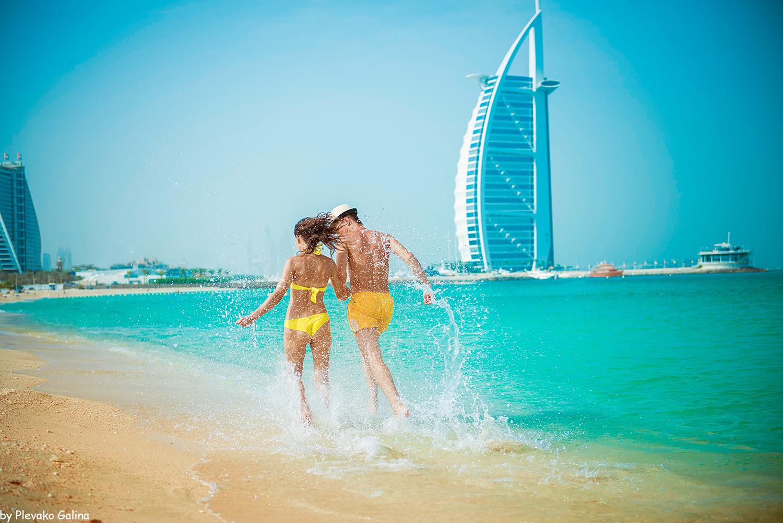 Фото пляжа в ОАЭ