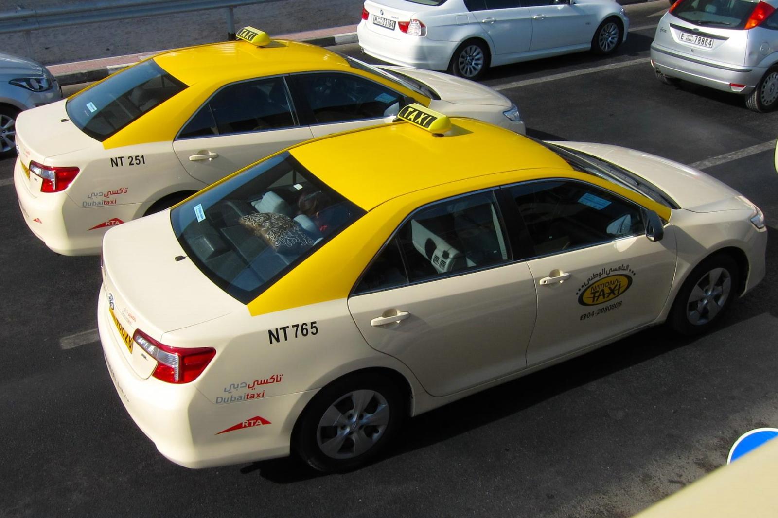 В Шарджу на такси