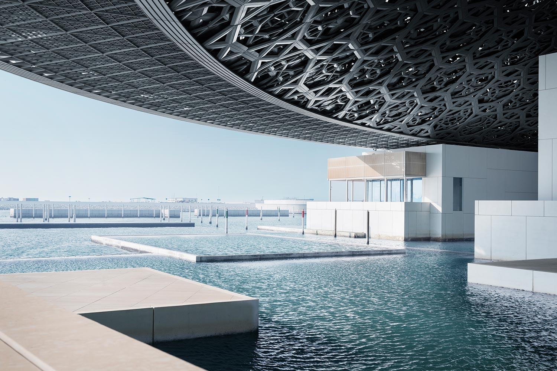 Фото Лувра в Абу-Даби