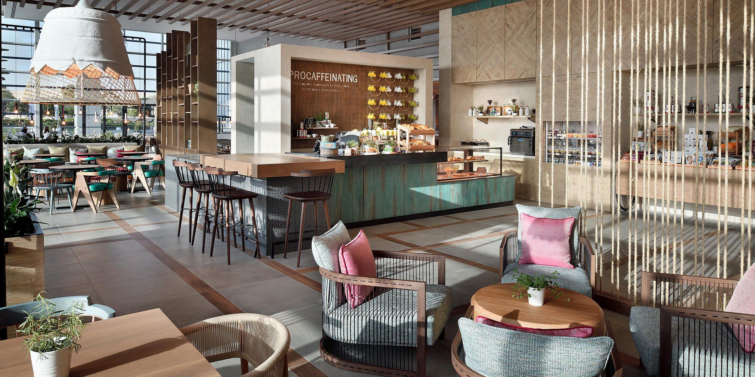 Фото кафе в Дубае