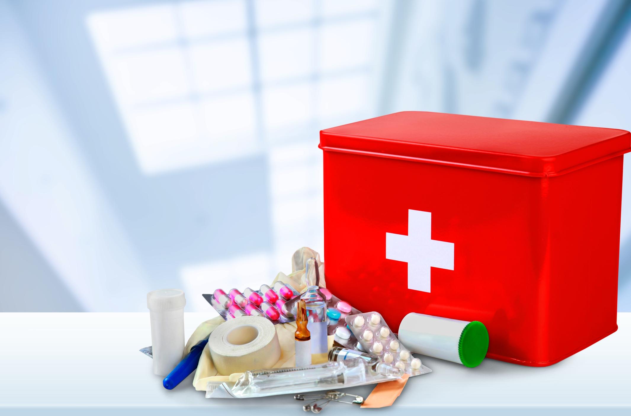 Фото аптечки в путешествие