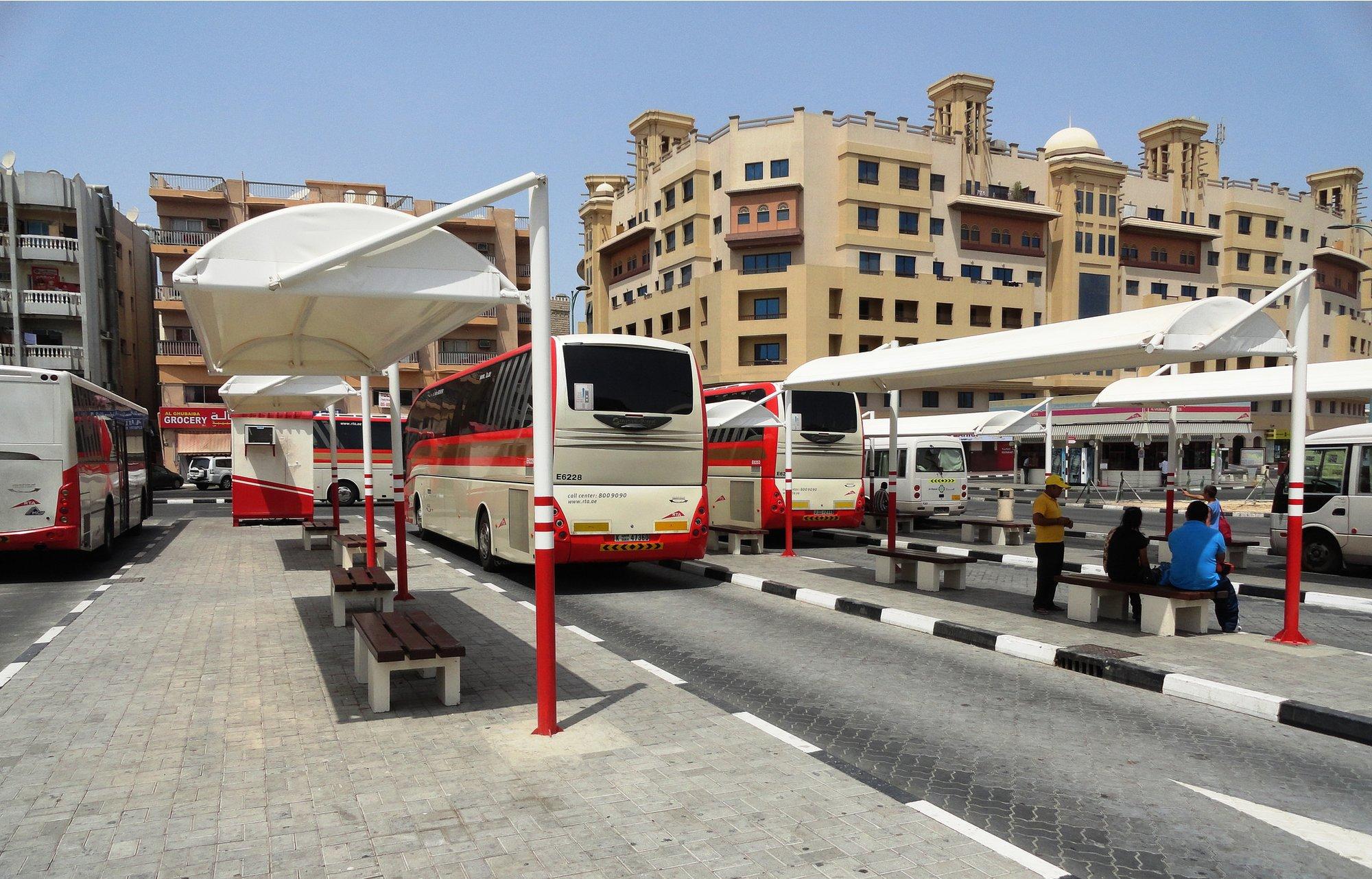 Фото автовокзала Al Ghubaiba