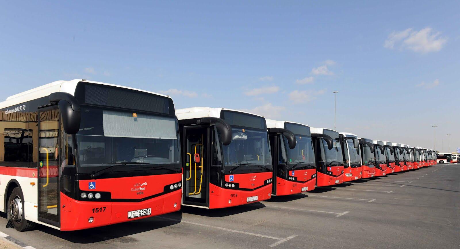 Фото автобусов в Абу-Даби