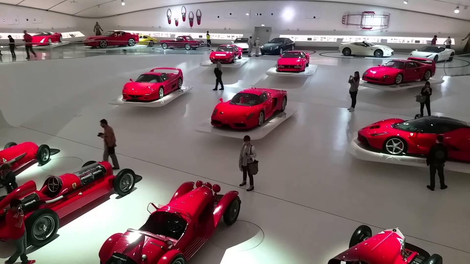 Фото музея Ferrari