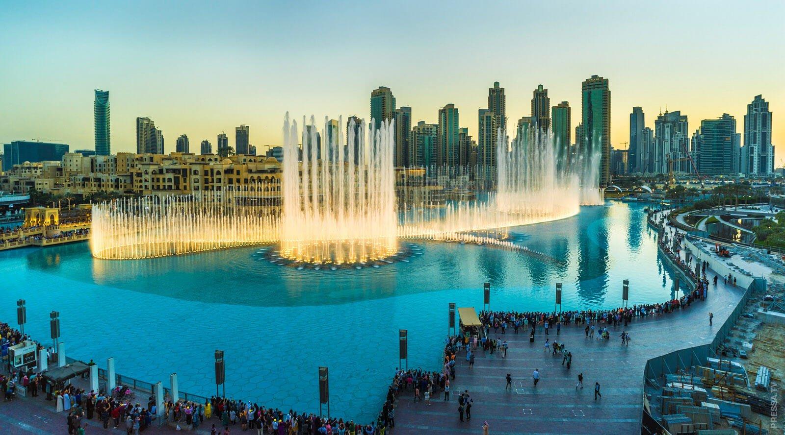 Фото фонтана