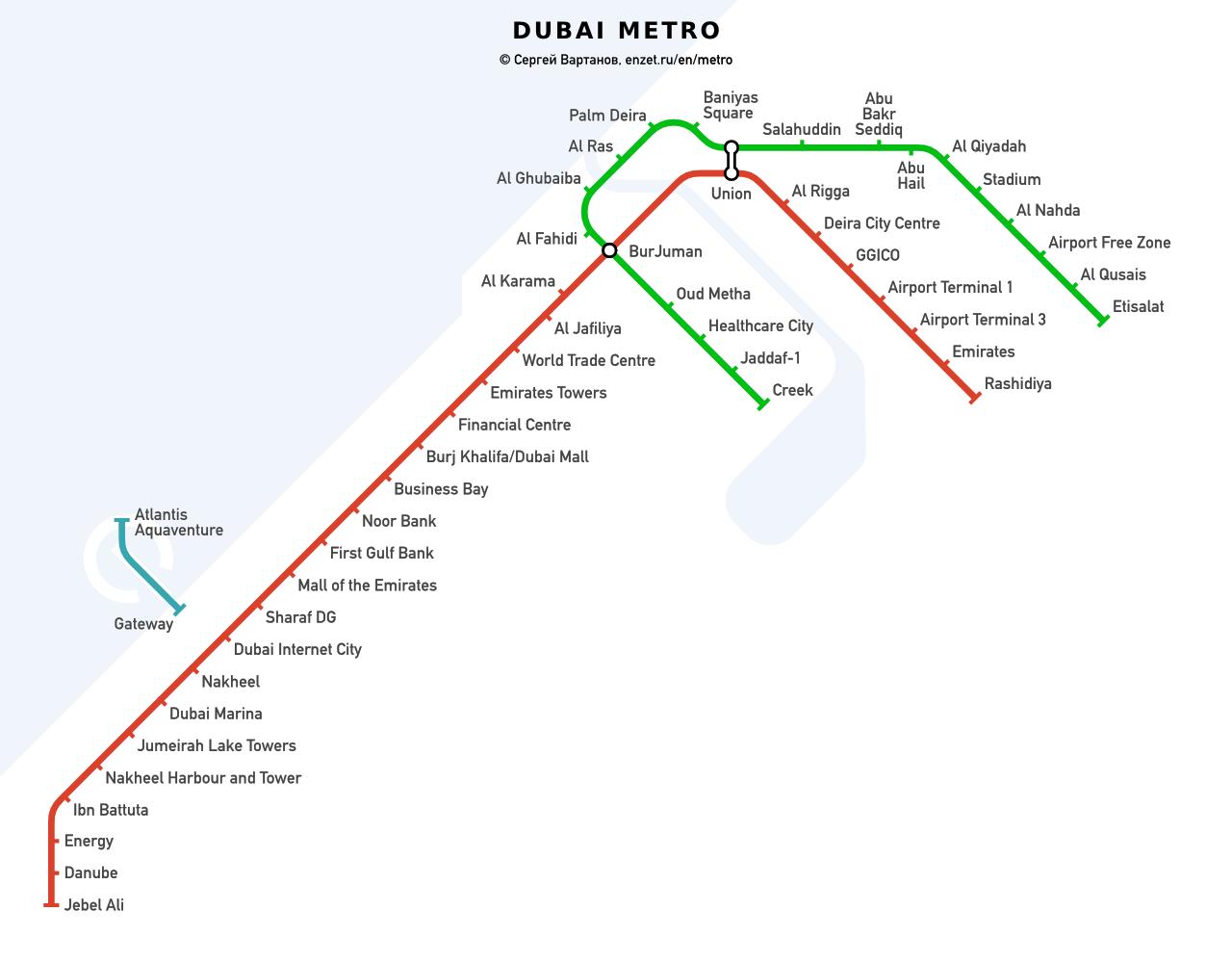 Фото схемы в метро