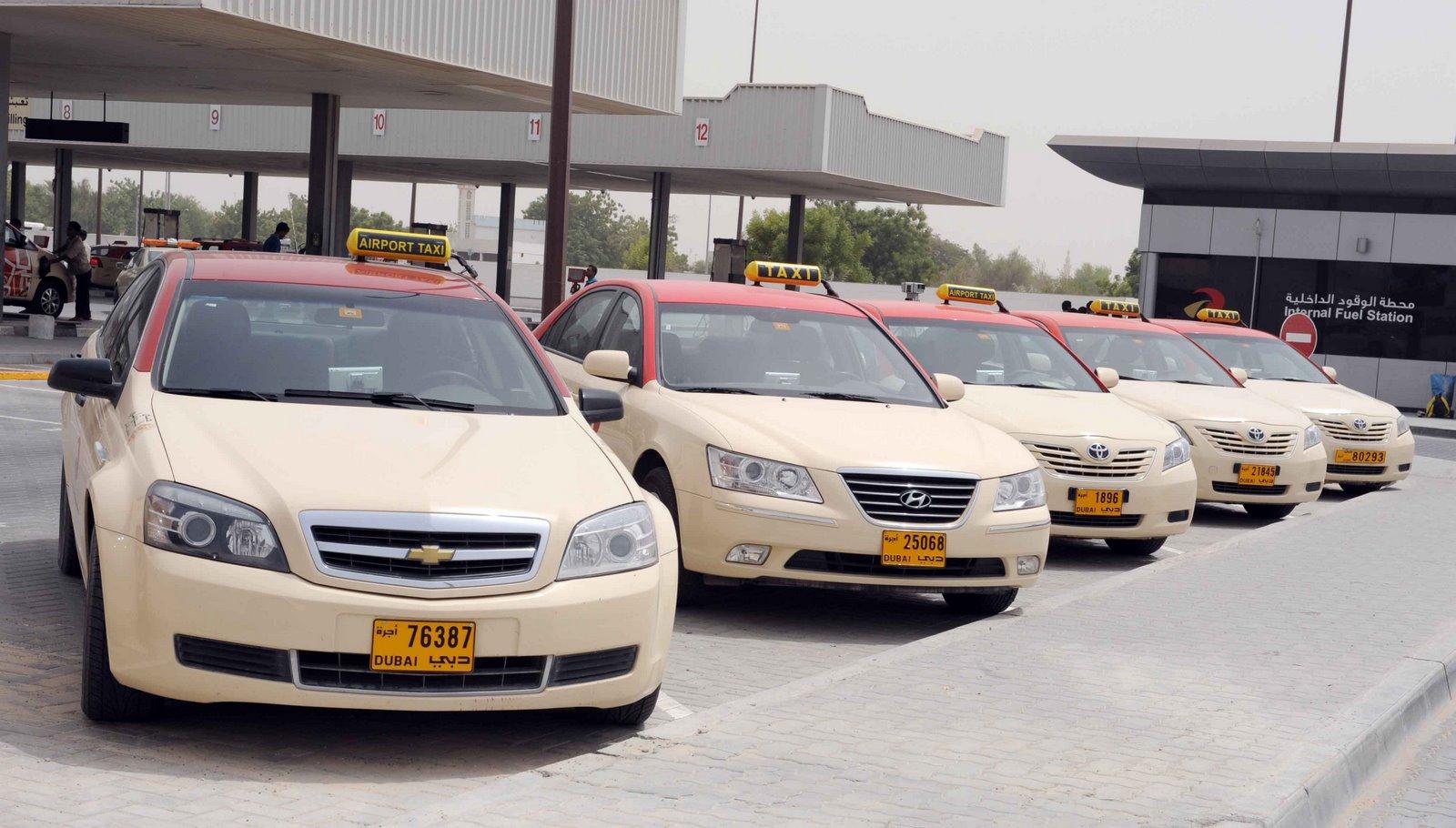 Фото такси в Дубае