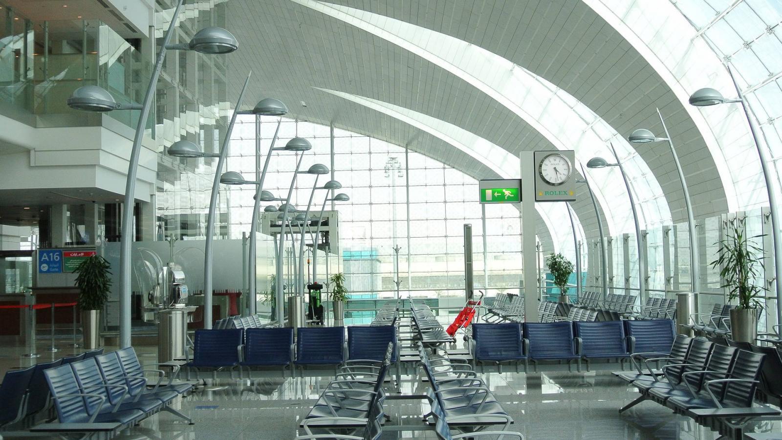 Фото аэропорта Дубая