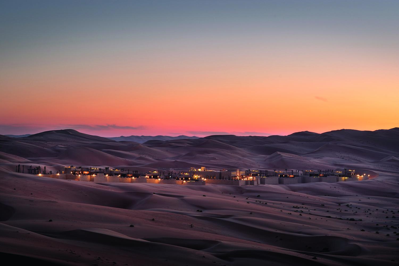 Фото пустыни Дубая