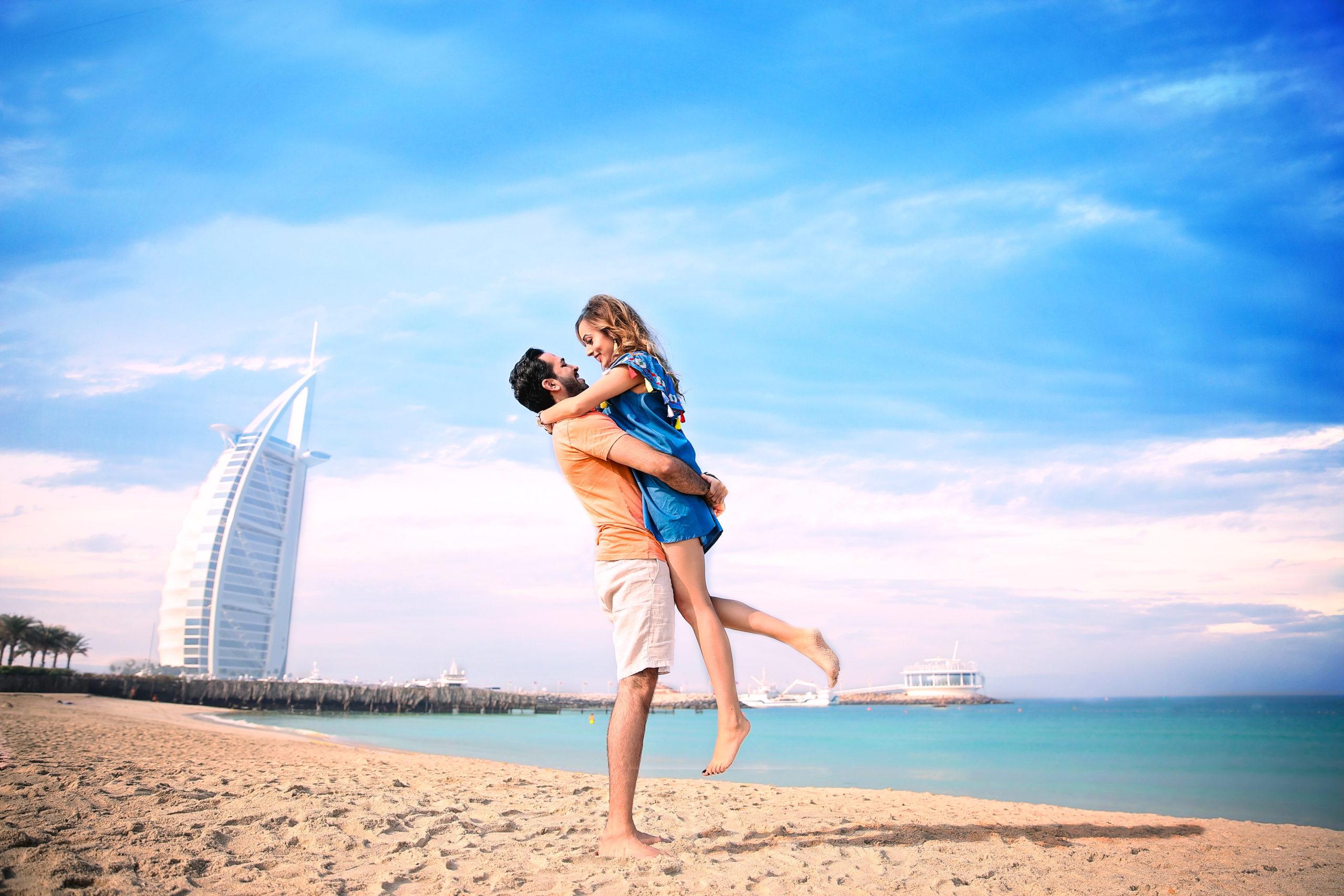 Фото с пляжа Дубая