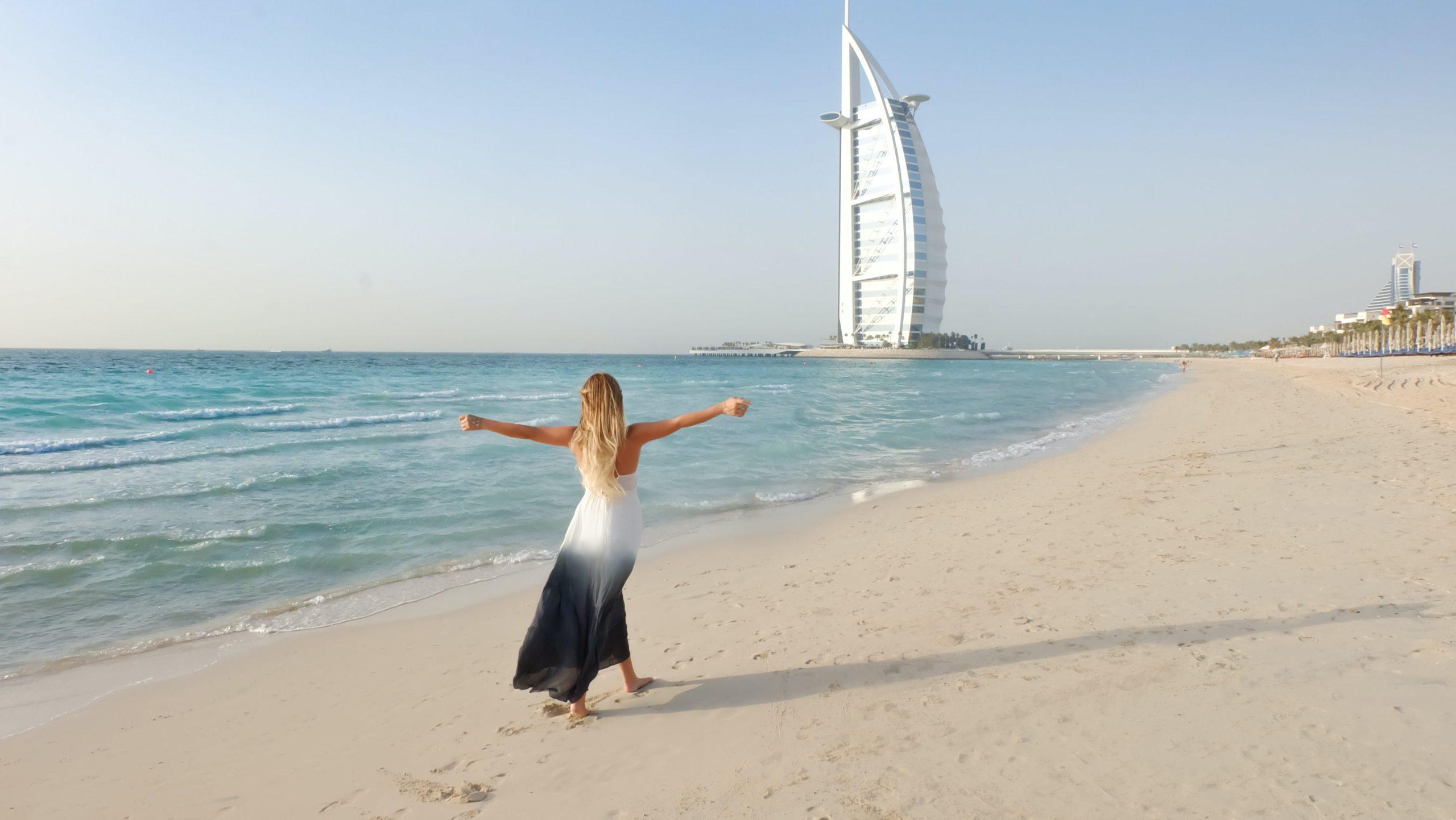 Фото девушки в ОАЭ