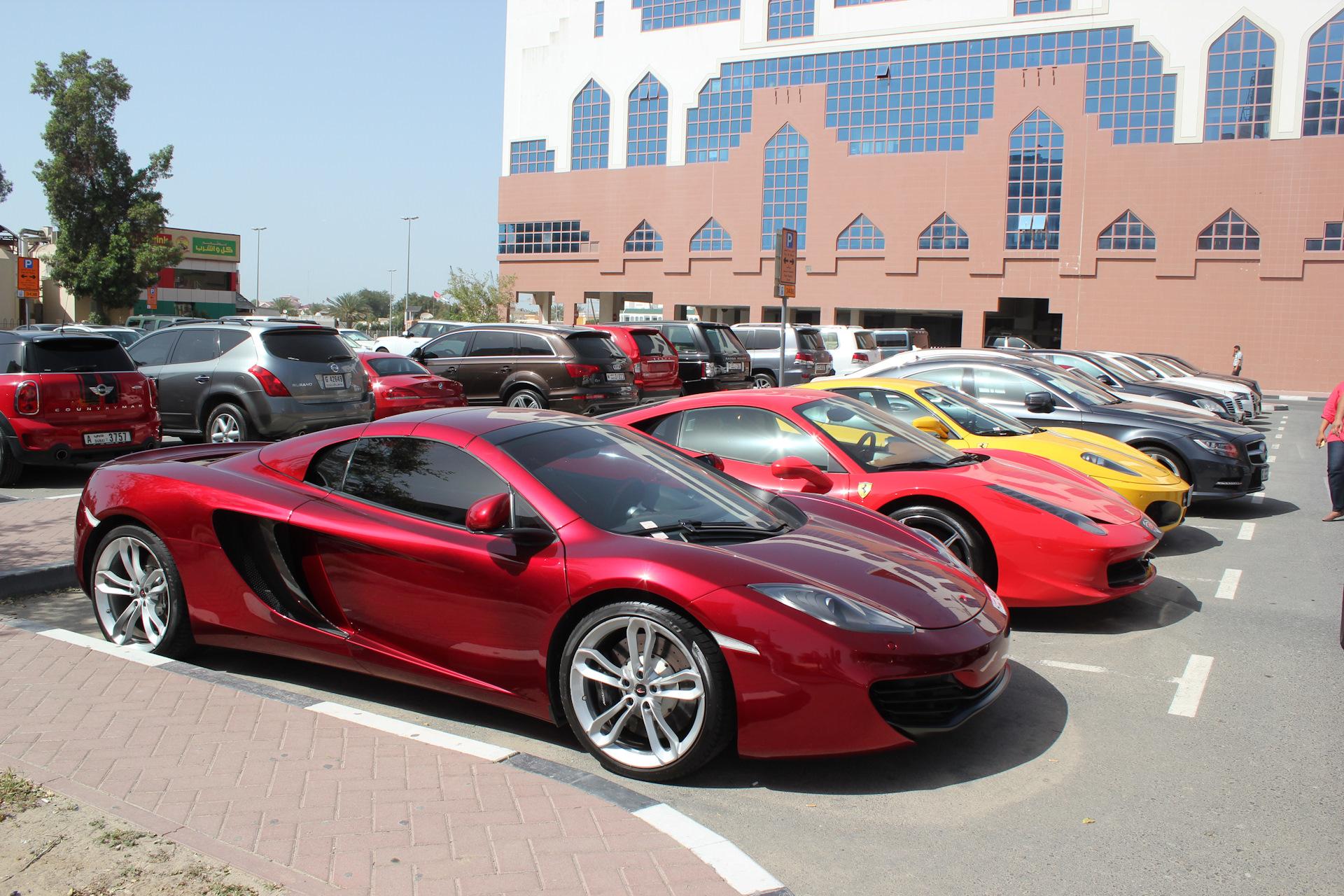 Фото авто в Дубае