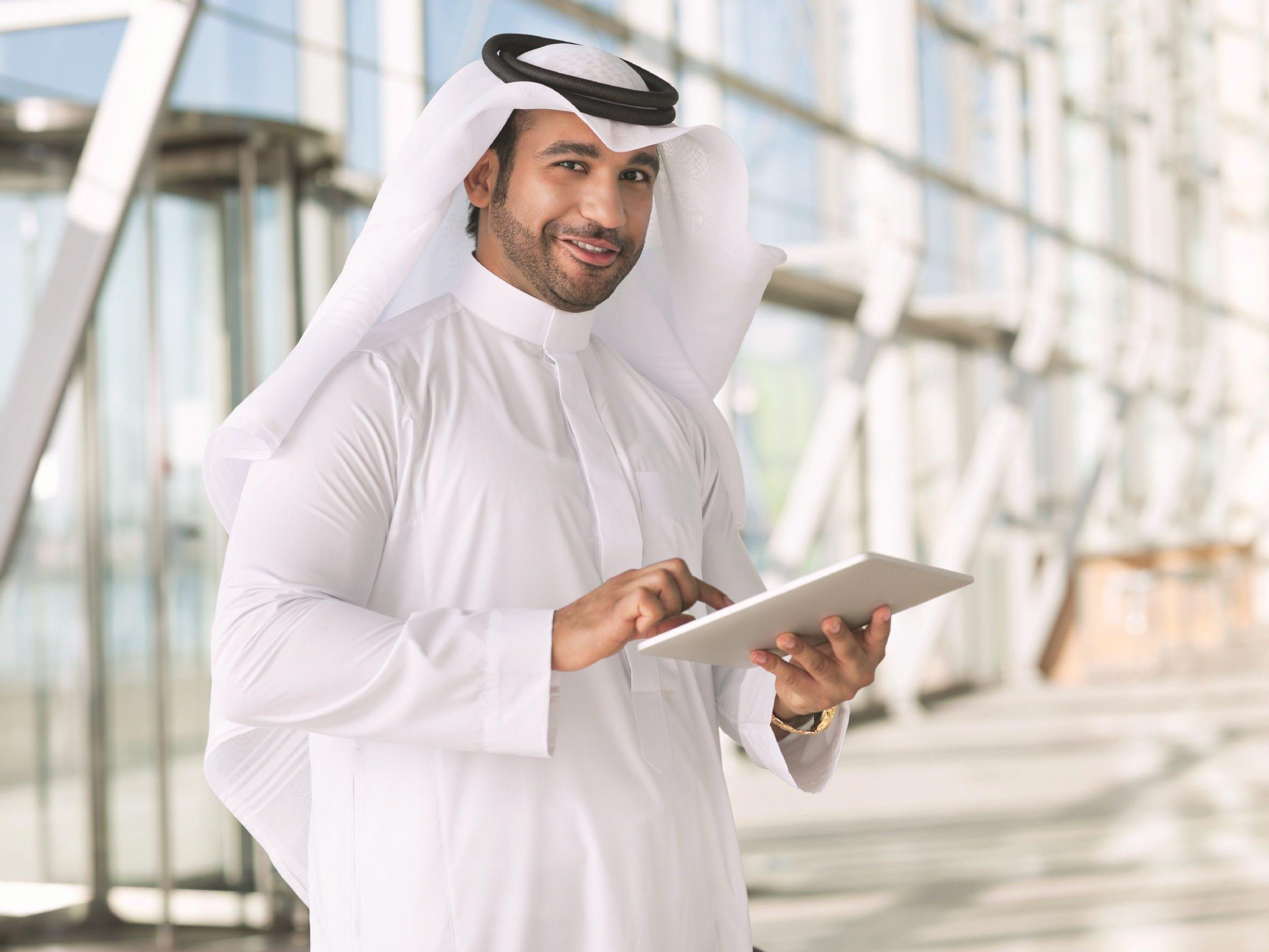 Фото жителя ОАЭ
