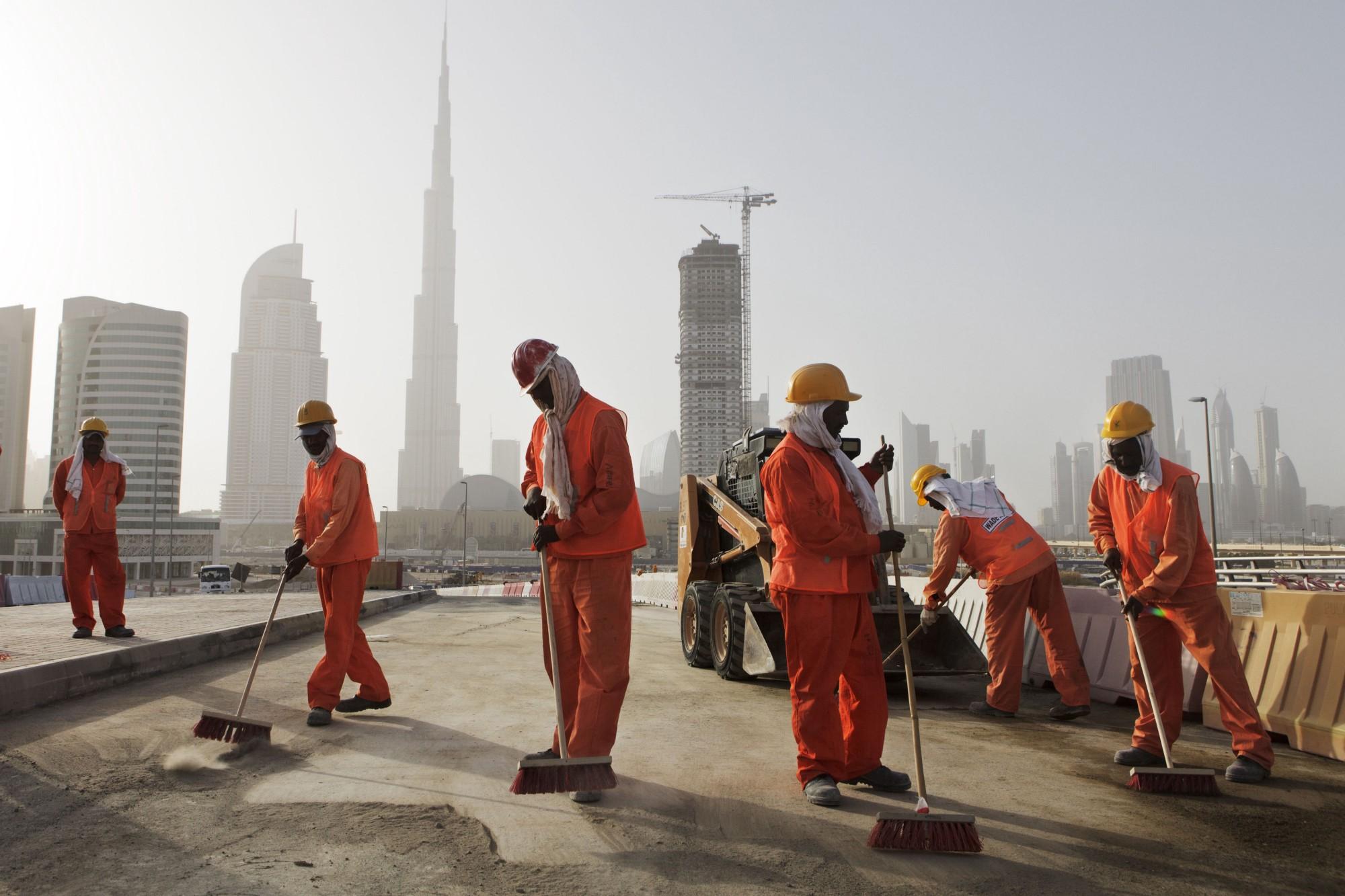 Рабочая сила в ОАЭ