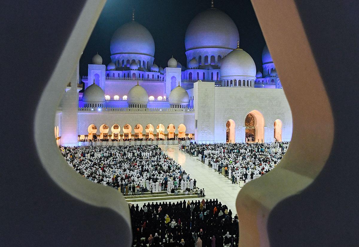 Фото мечети в ОАЭ