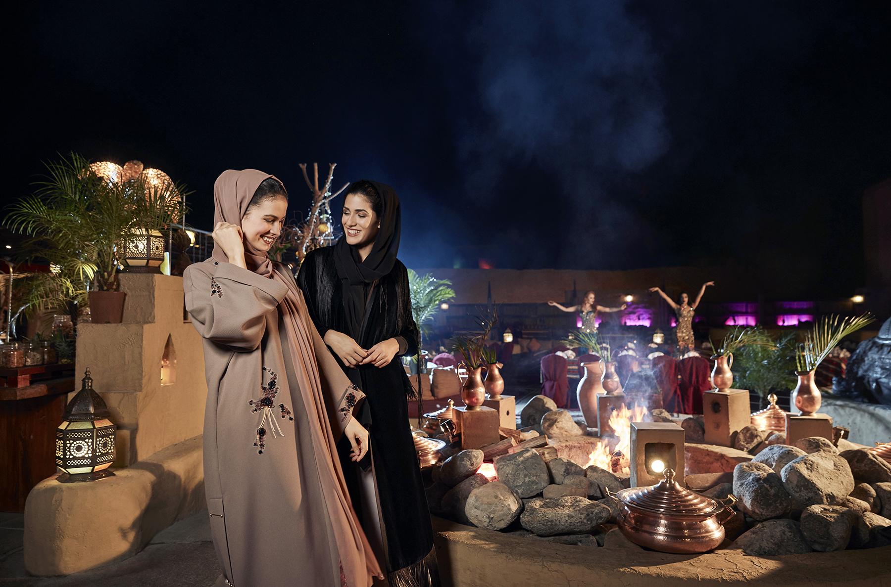 Вечер в ОАЭ