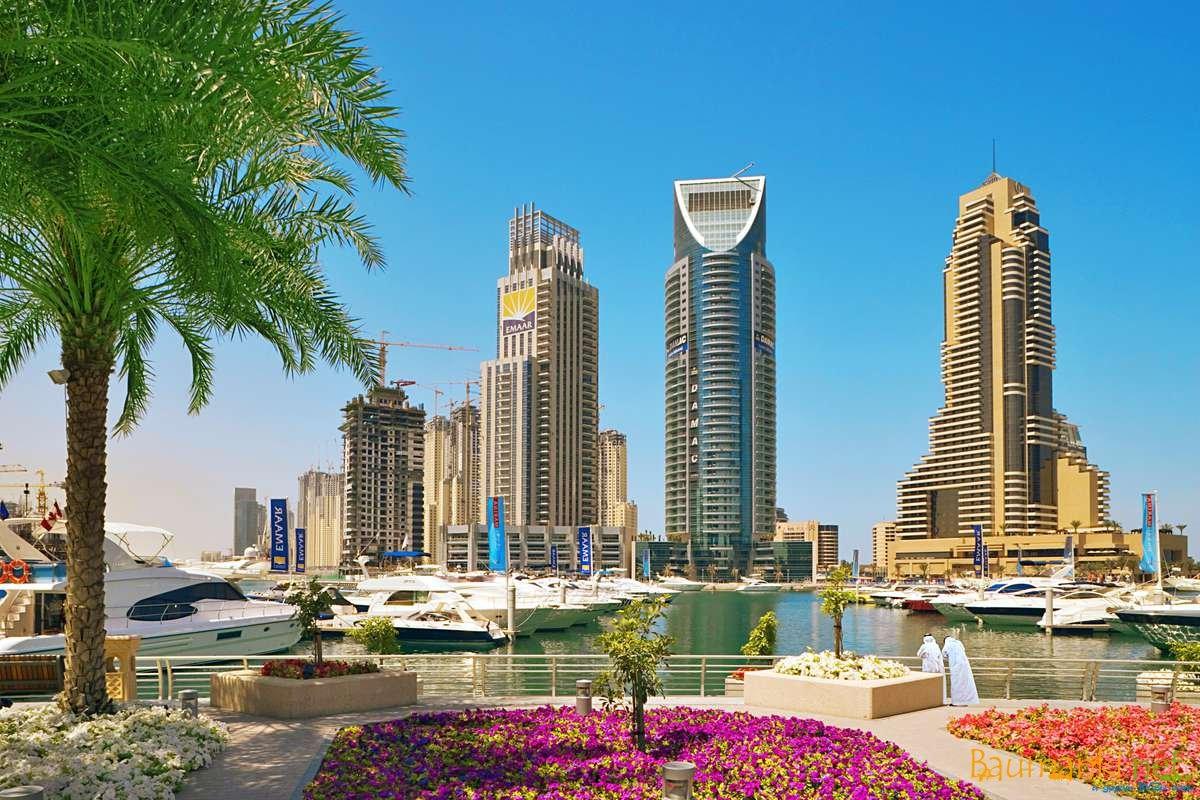 Красивый город Эмиратов