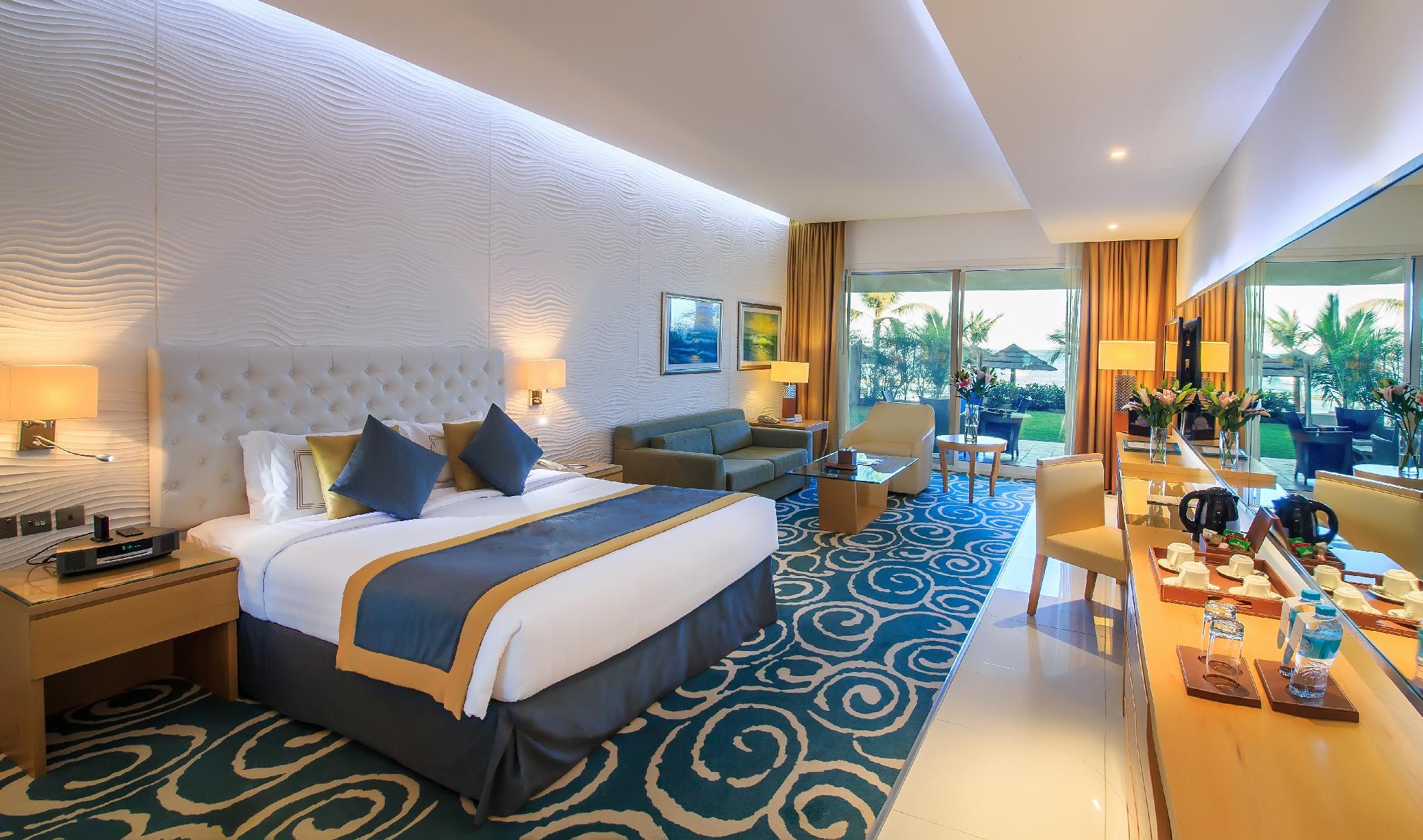 Номера Вид на отель Oceanic Khorfakkan Resort SPA