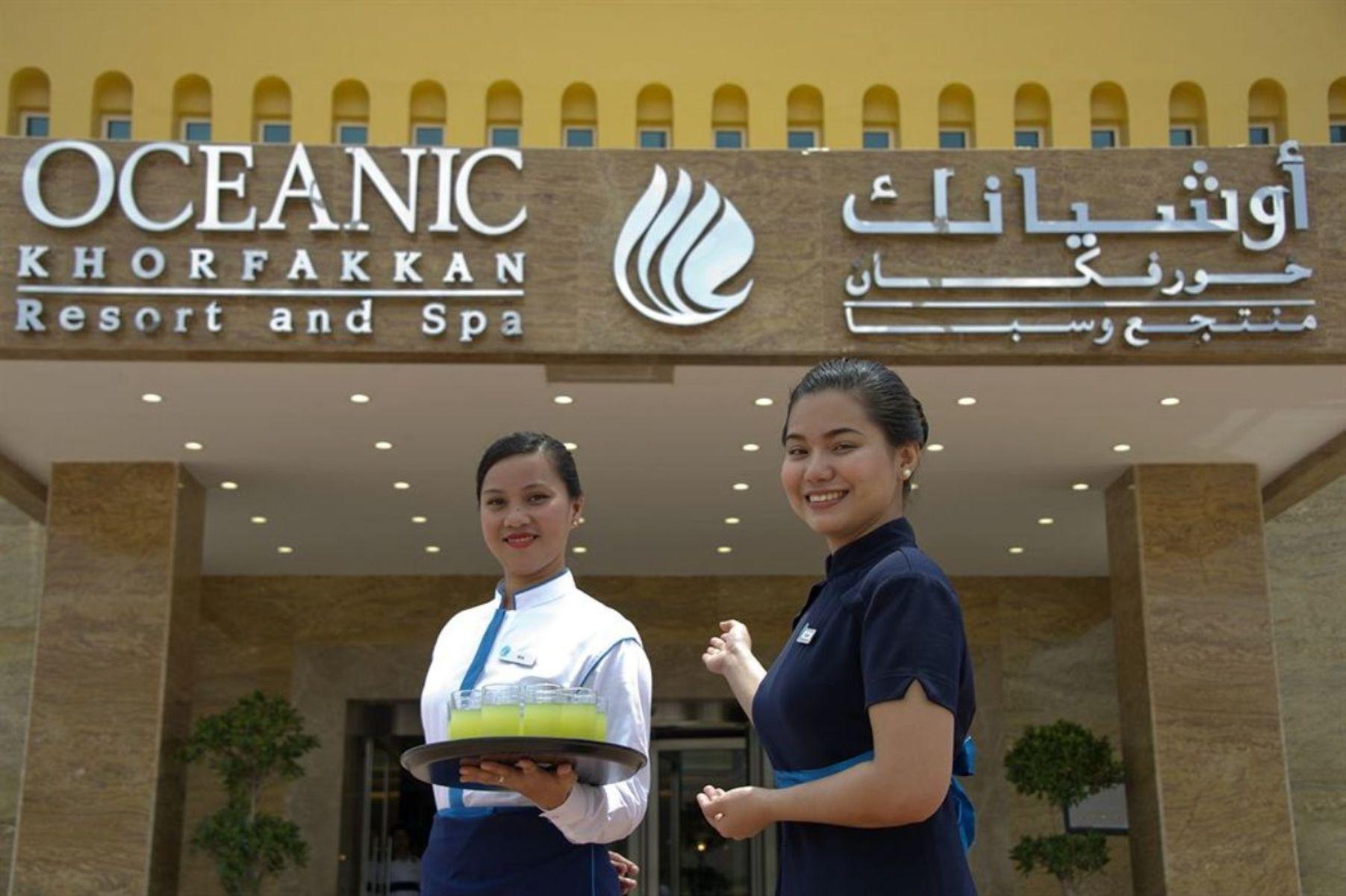 Обслуживание в Oceanic Khorfakkan Resort SPA