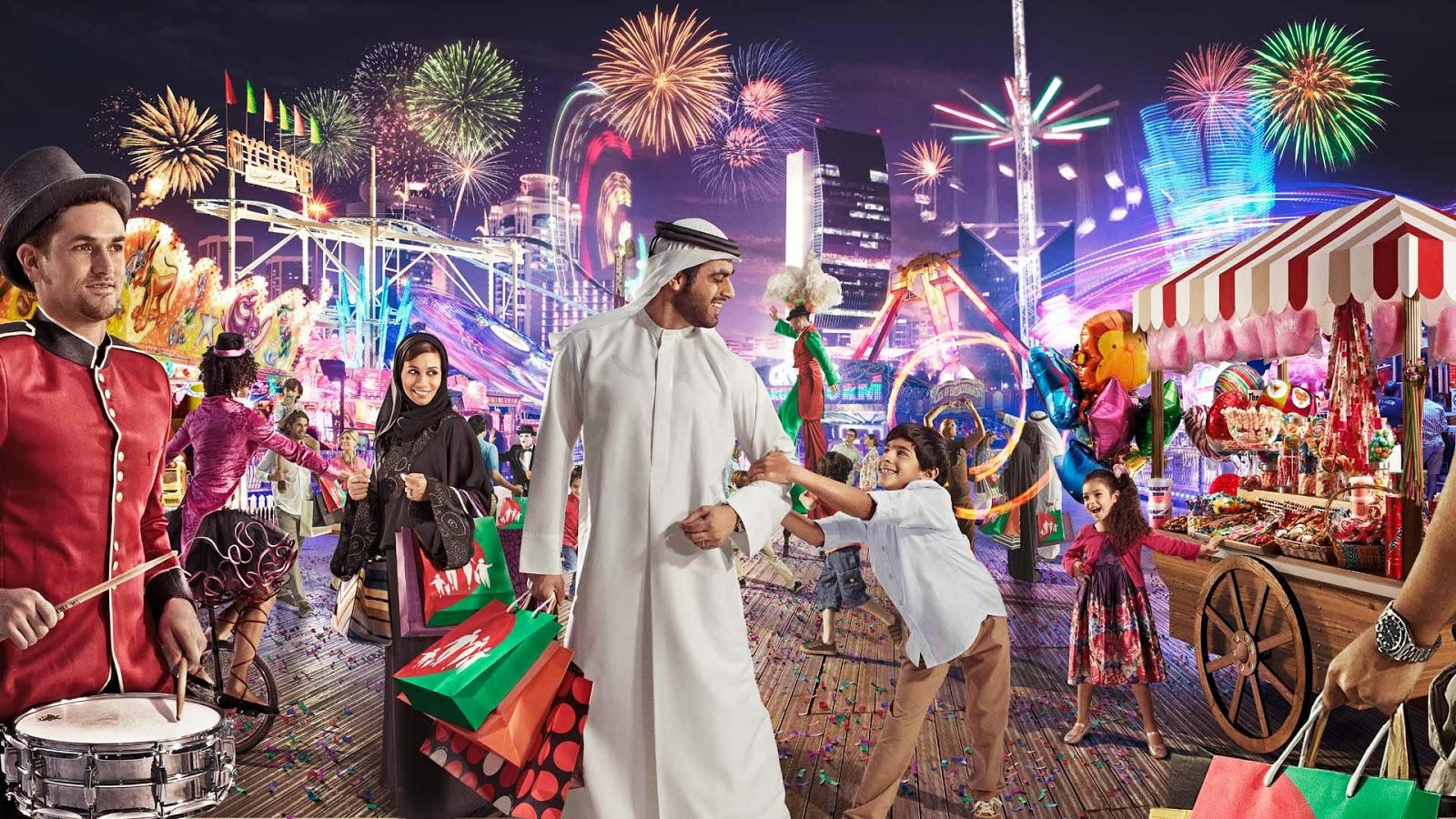 Фестиваль в Дубае