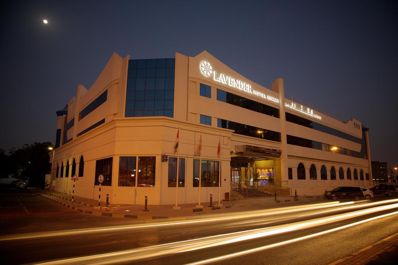 На фото отель Lavender Hotel Sharjah 4*
