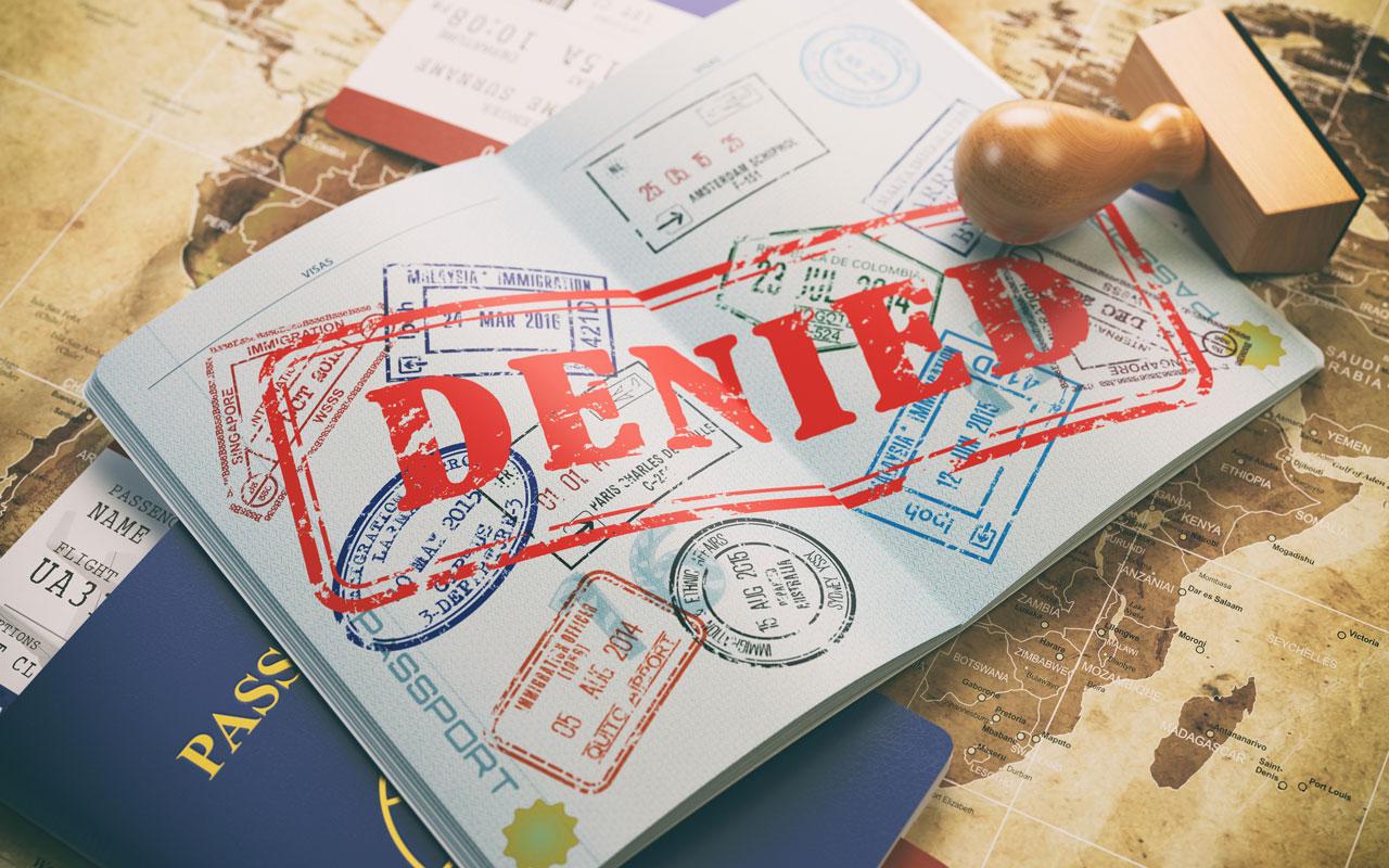 Отказ в получении визы в ОАЭ