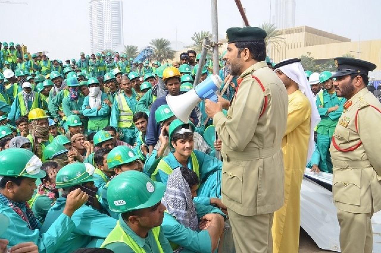Нелегальная миграция в ОАЭ