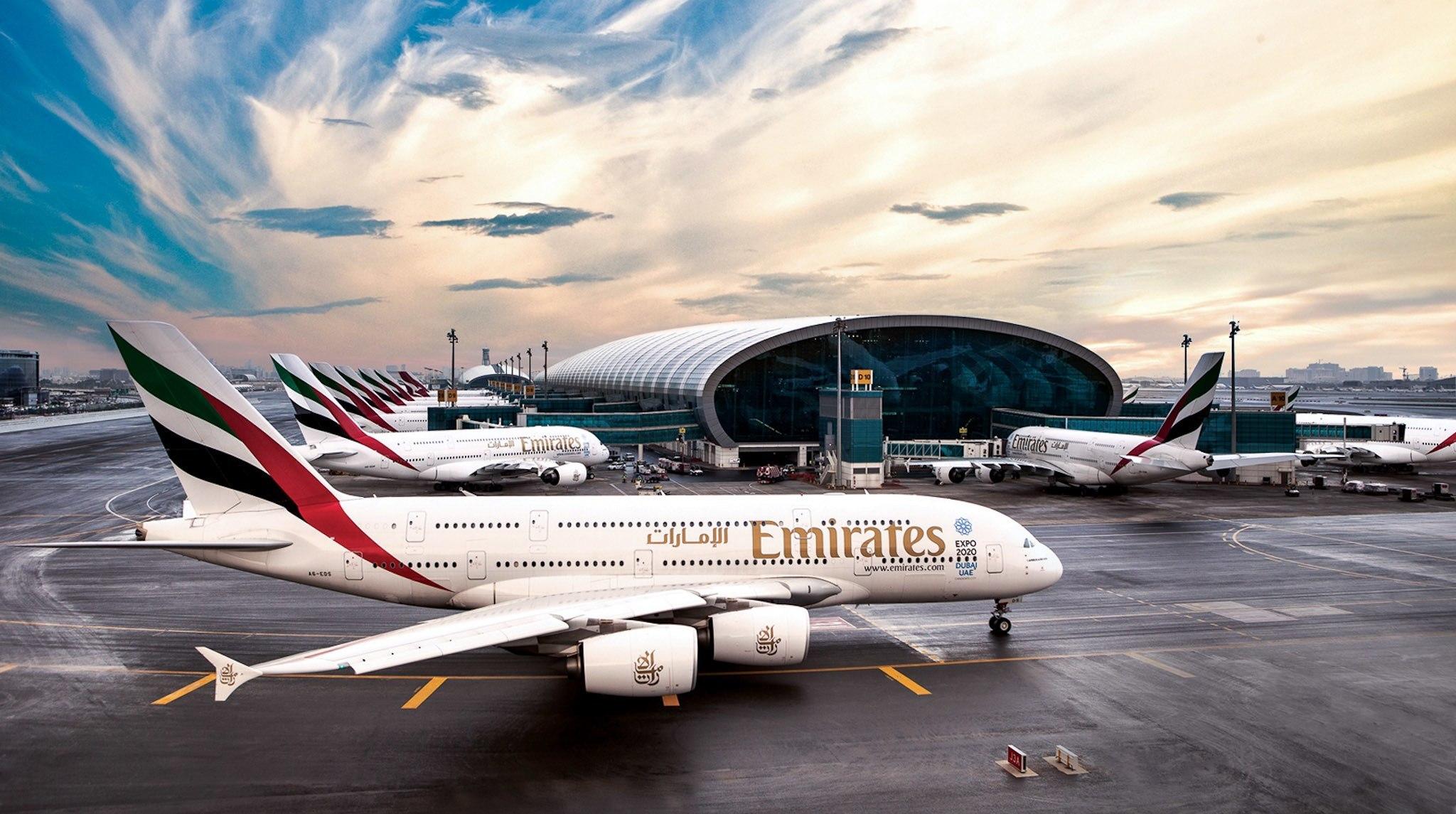 Перелёт из Питера в Дубай