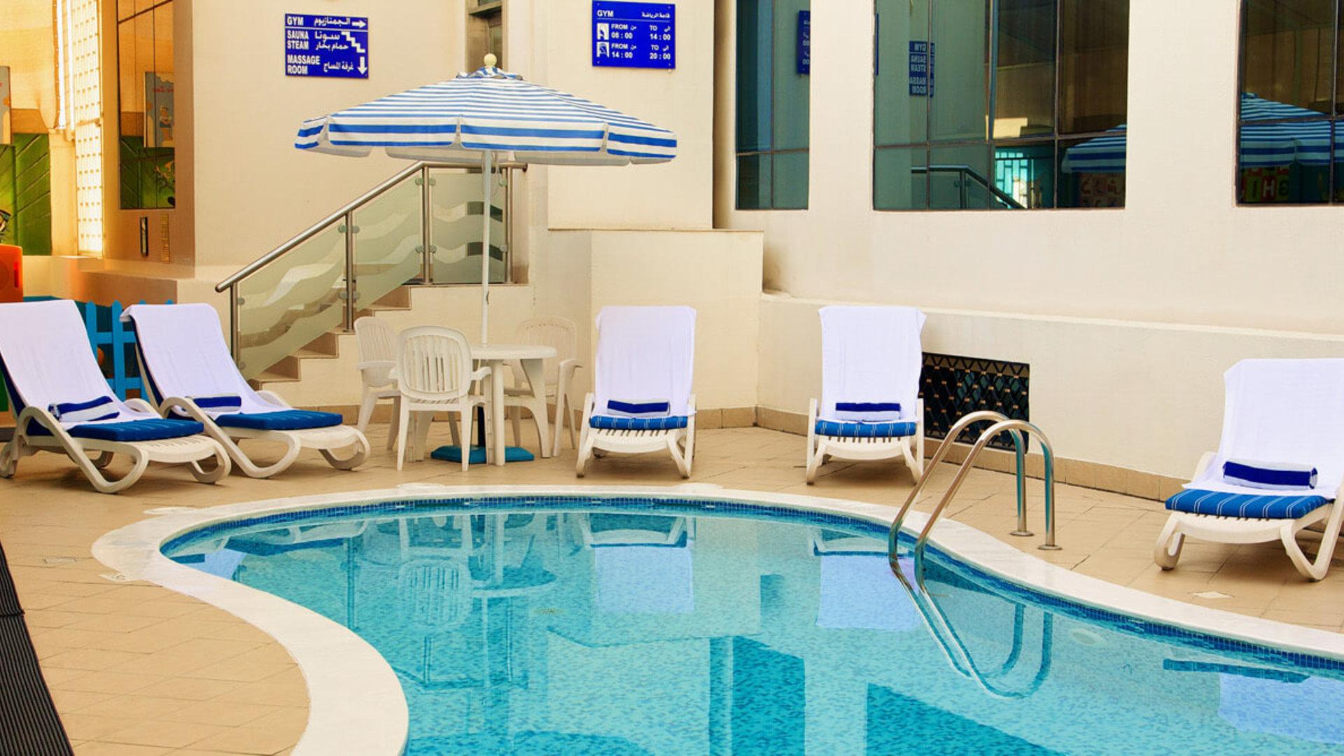 Пляж и развлечения отеля Lavender Hotel Sharjah 4*