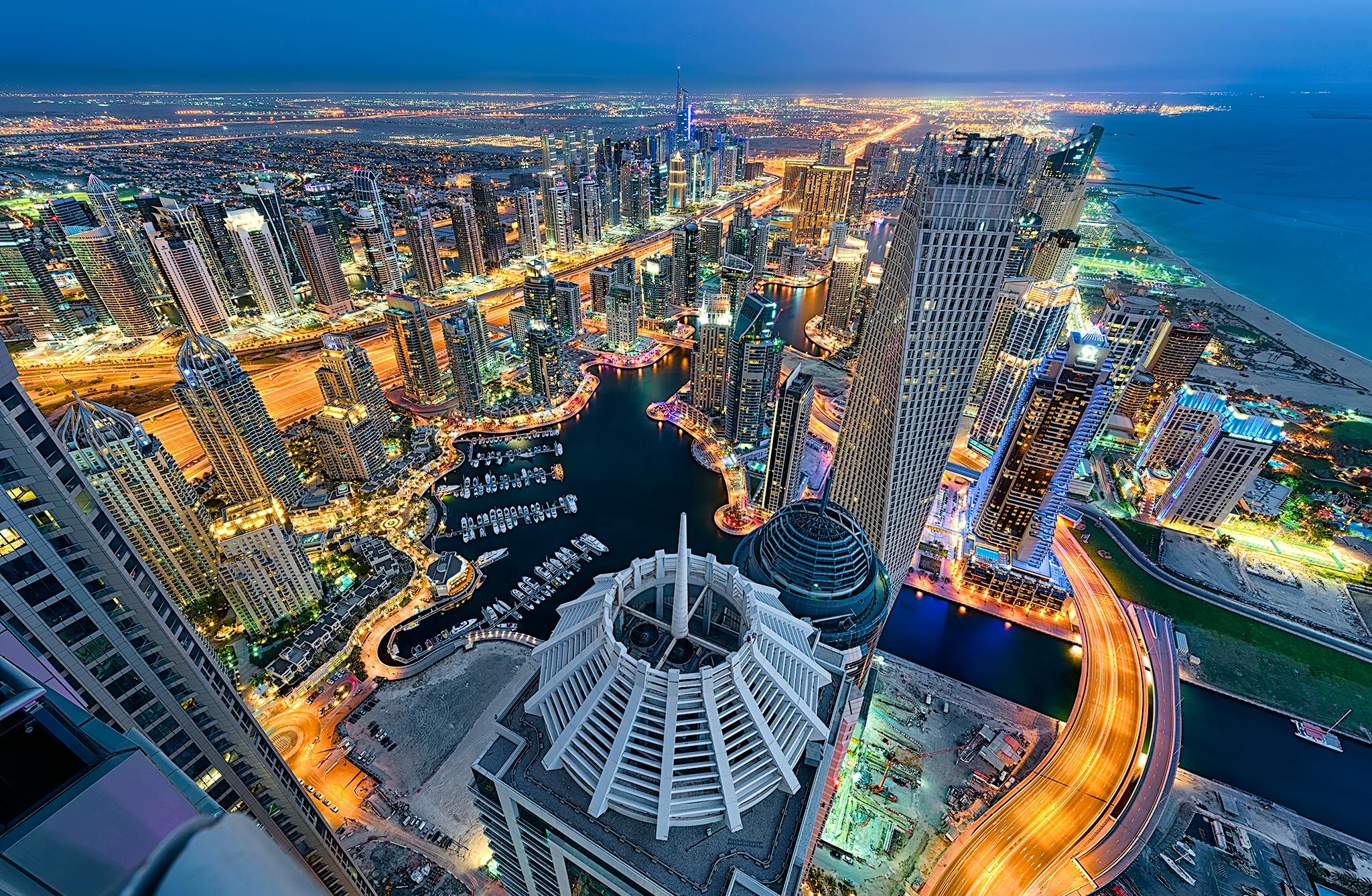 Самые популярные города Арабские Эмиратов