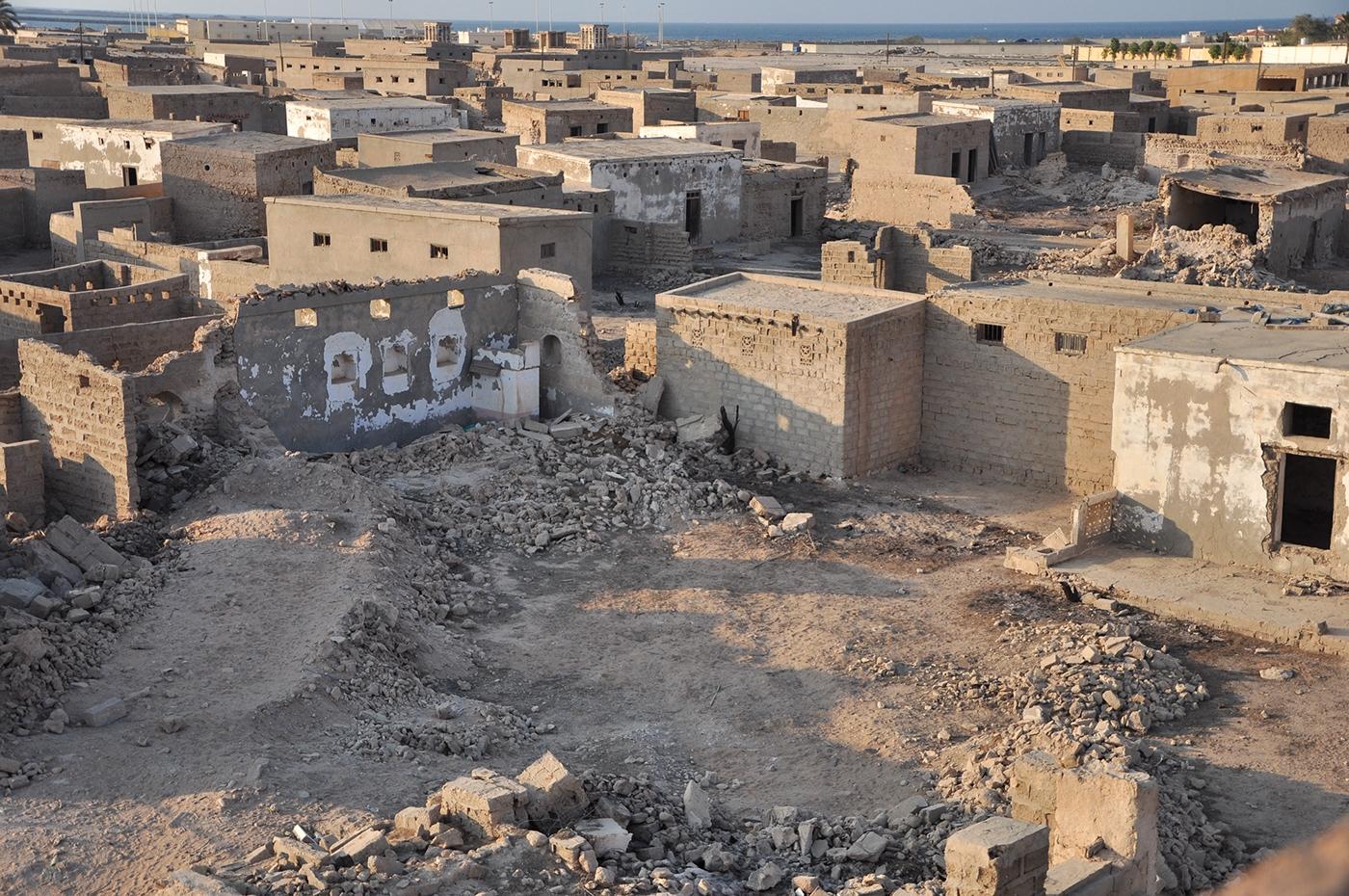 Город Джазират Аль-Хамра