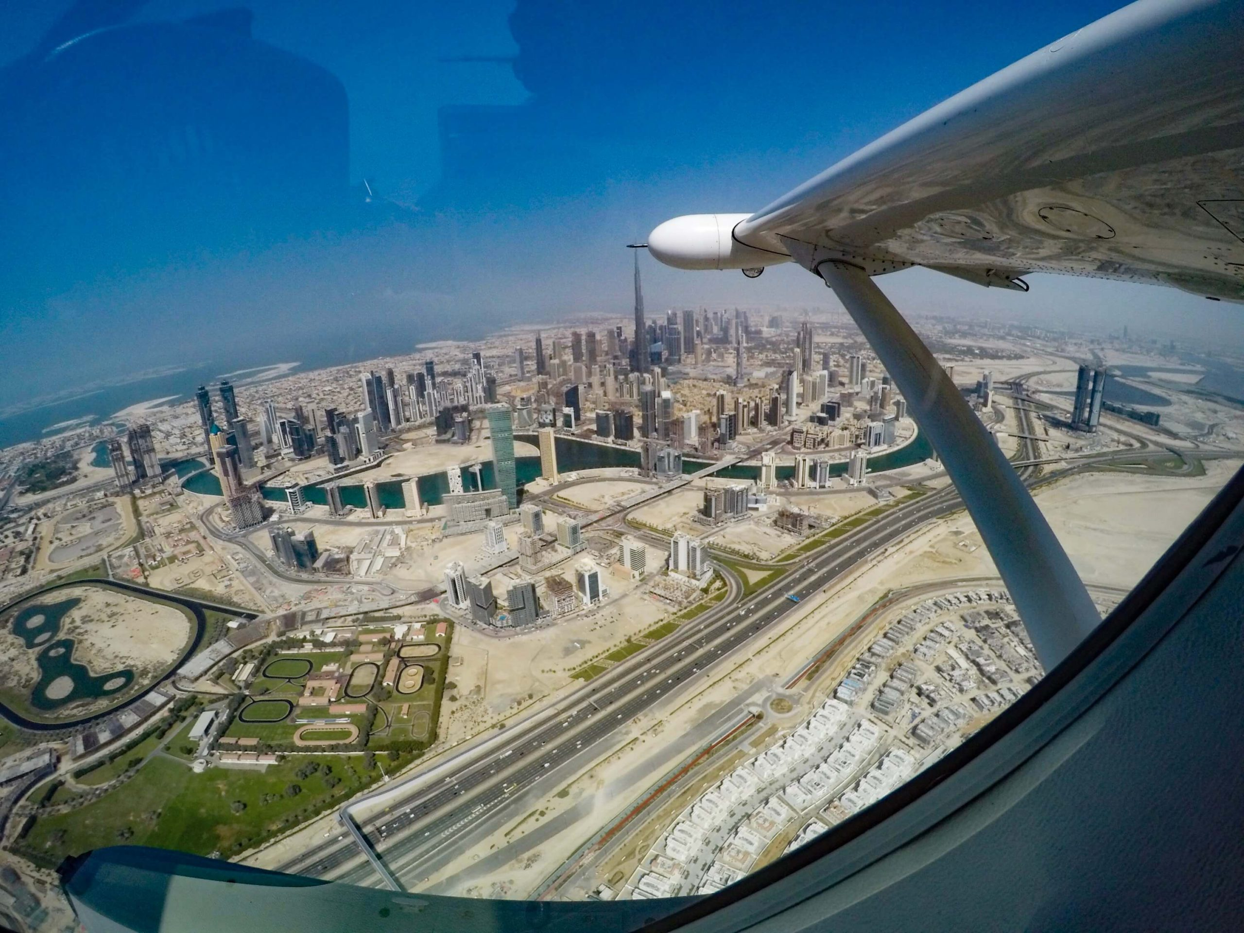 Полёт на гидросамолете