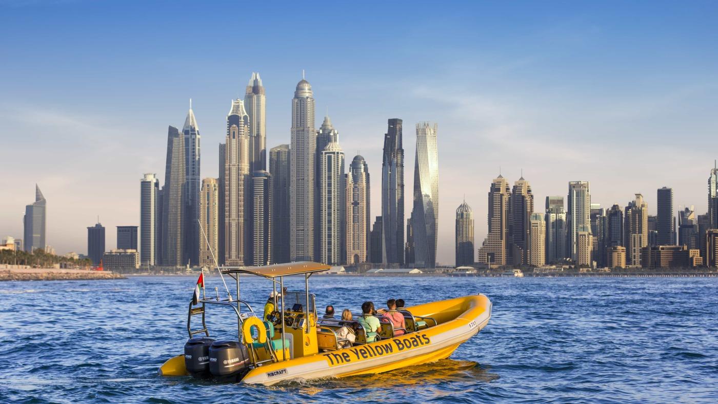 Круиз: Палм-Джемейра, Дубай-Марина, Бурдж Аль-Араб