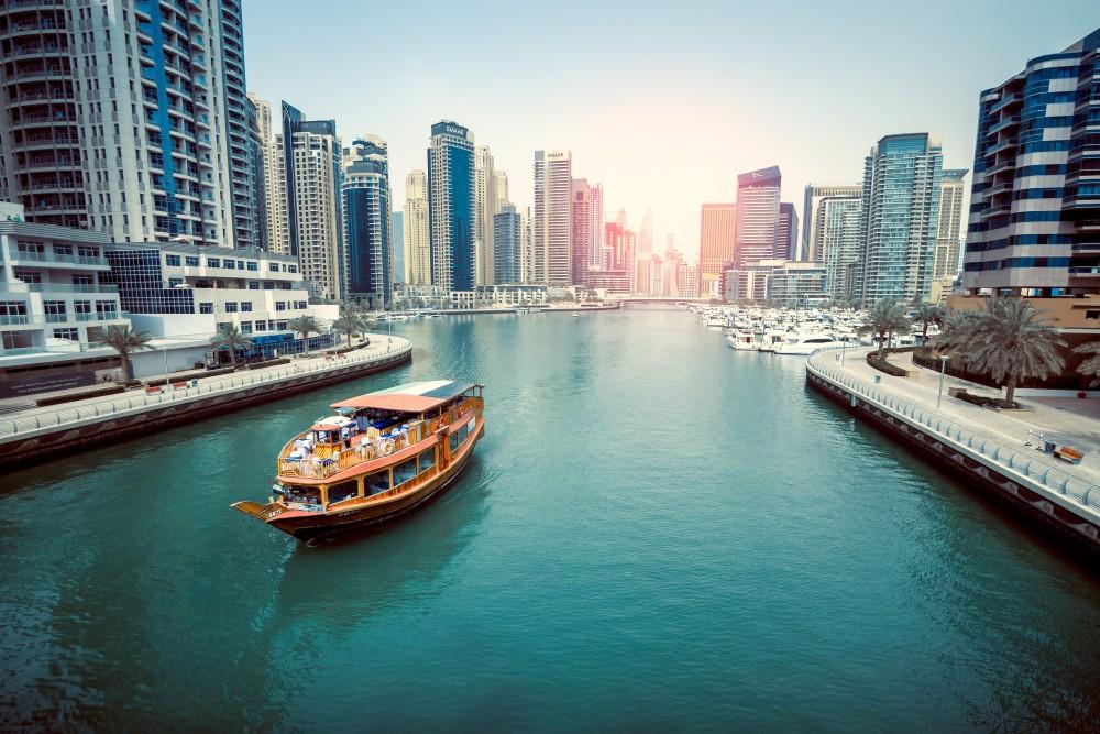 Обзорная экскурсия по Абу-Даби на лодке