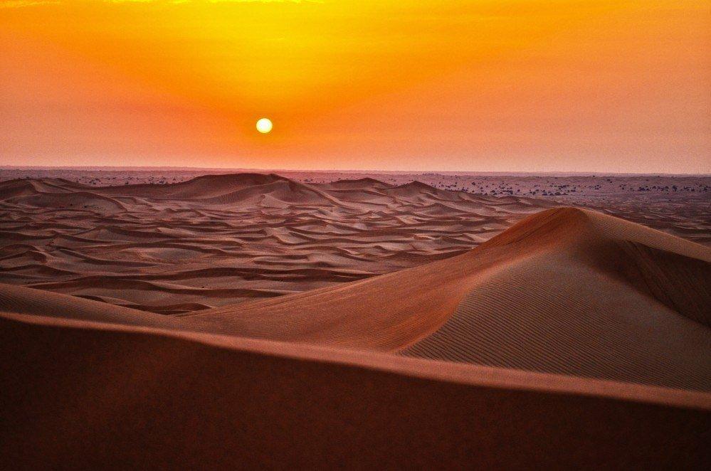 Вечерний сафари-тур по пустыни