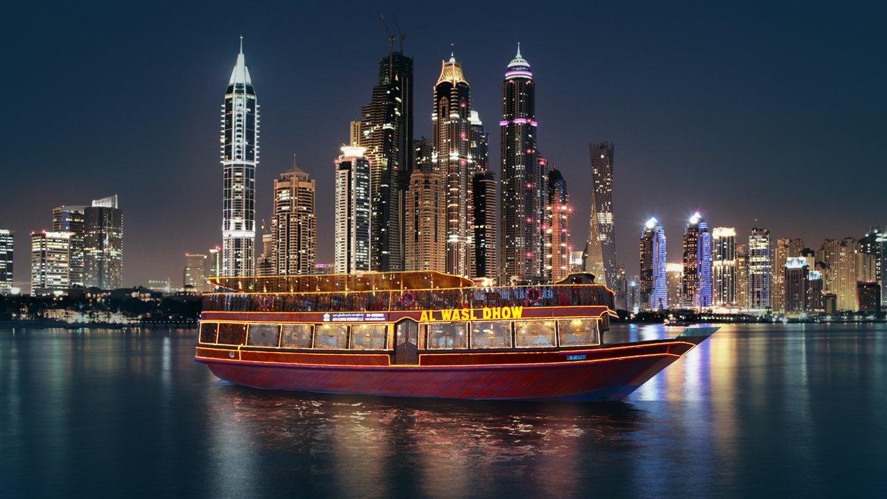 Круиз по Дубаю с ужином